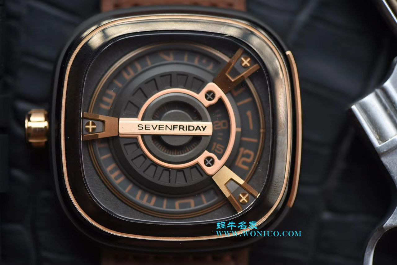 【视频评测SV工厂顶级复刻手表】七个星期五 Seven Friday M2/02 腕表 / SVM202