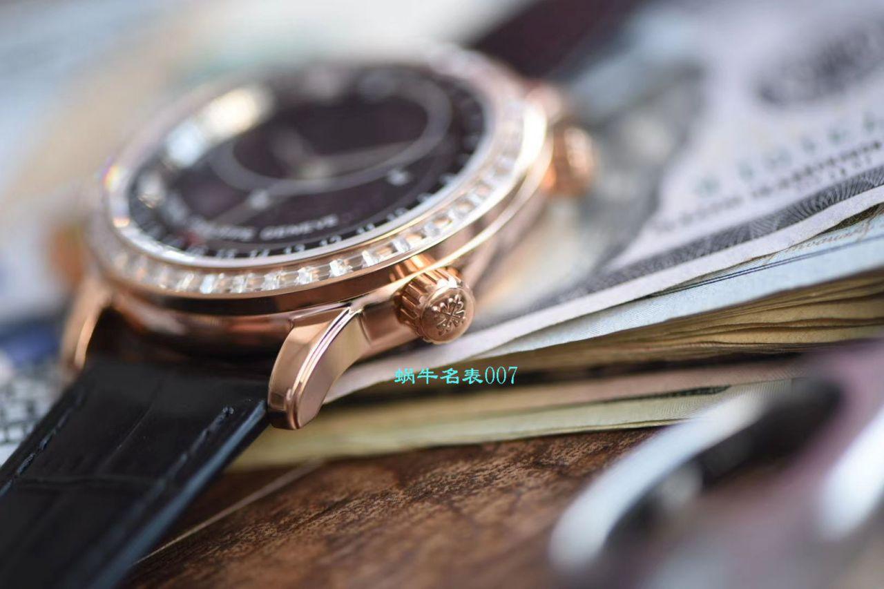 【台湾厂最新升级版高仿手表】百达翡丽超级复杂功能计时系列6104R-001腕表 / BD236