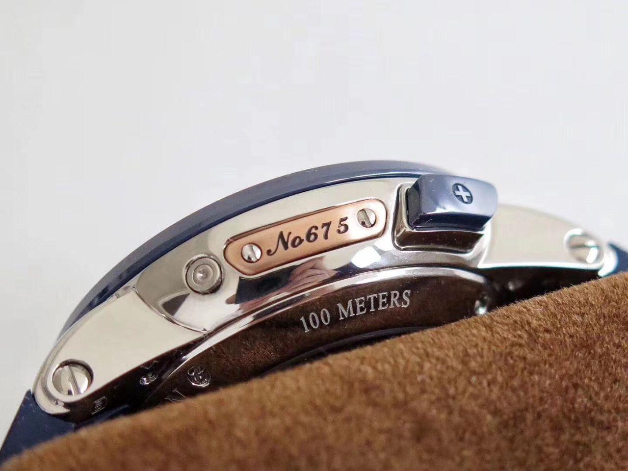 【视频评测TWA工厂Ulysse Nardin复刻表】雅典表复杂功能系列320-00/BQ腕表 / YD016
