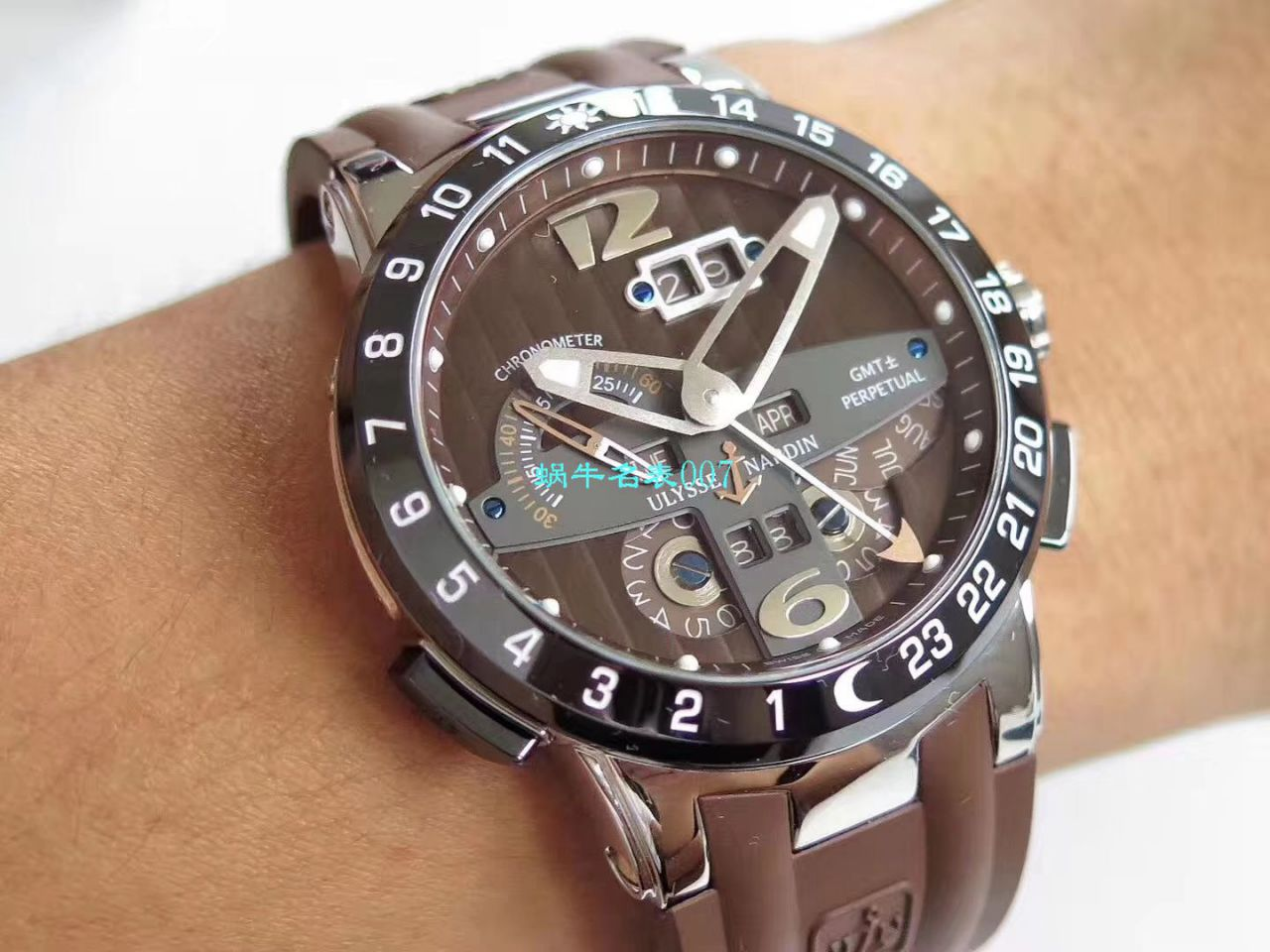 【评测TWA雅典复刻手表】雅典表复杂功能系列326-03腕表 / YD017