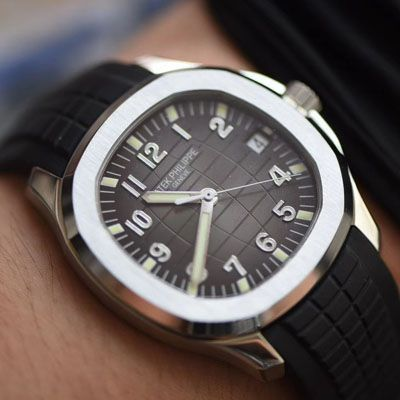 【V6厂鹦鹉螺复刻手表】百达翡丽AQUANAUT系列5167A-001,5167R-001,5168G-001三色腕表价格报价