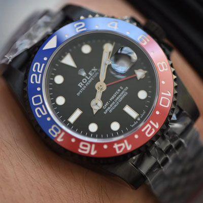 【LF厂超A精手表】Batman定制版劳力士格林尼治可乐圈Rolex GMT-Master II 126710BLRO-0001价格报价