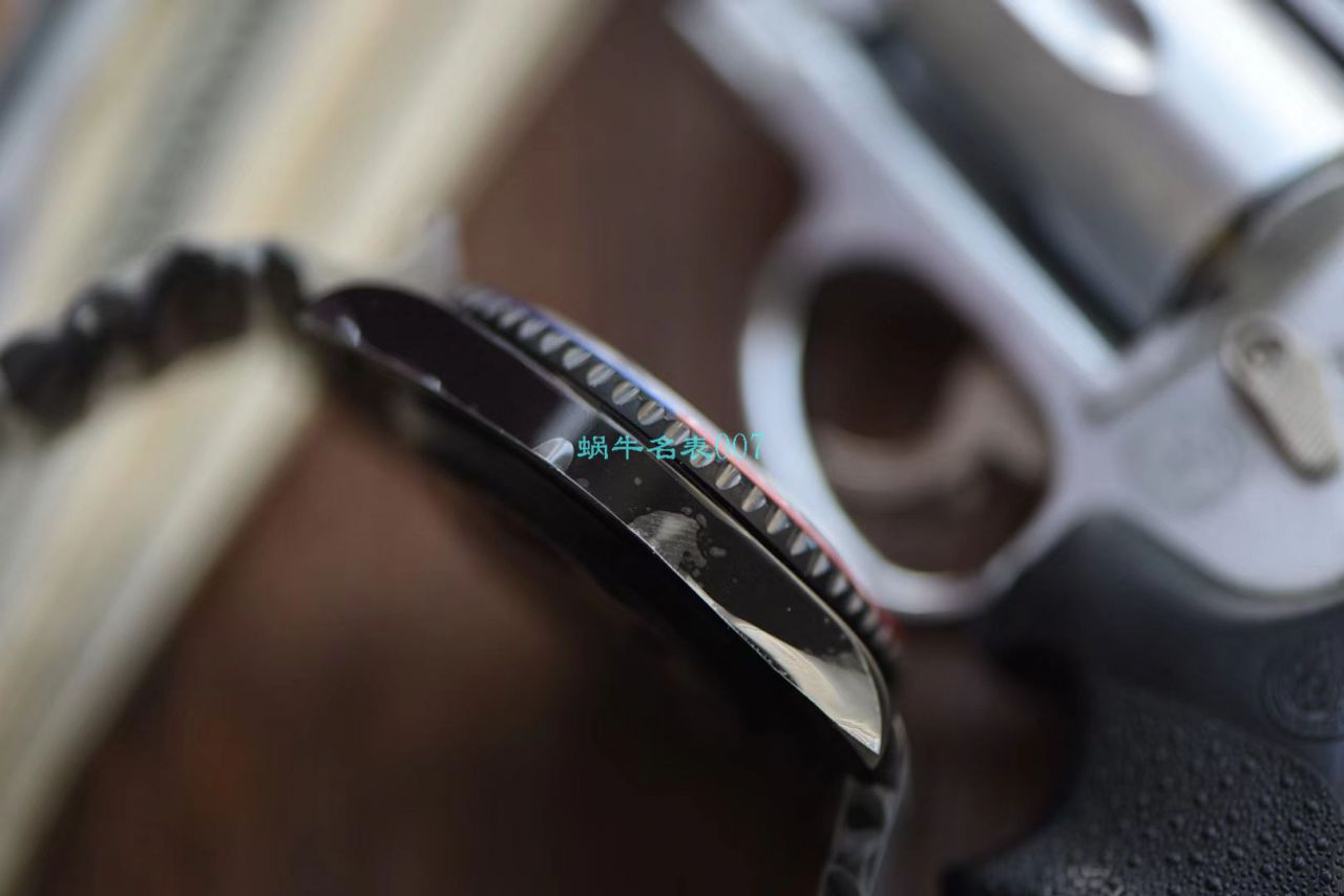 【LF厂超A精手表】Batman定制版劳力士格林尼治可乐圈Rolex GMT-Master II 126710BLRO-0001 / R506