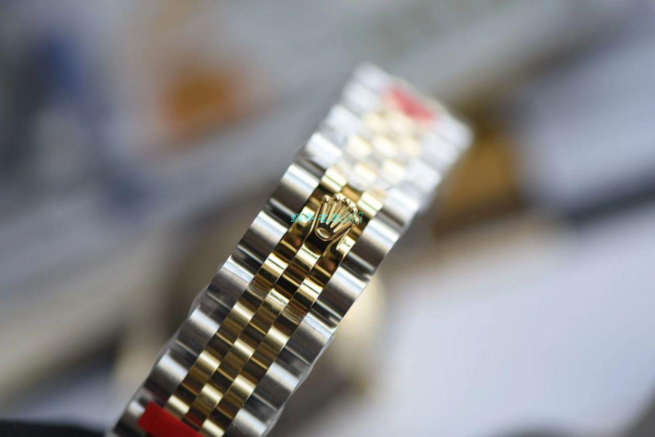 【台湾厂复刻ROLEX女表】劳力士女装日志型31毫米系列178273香槟盘腕表 / R510