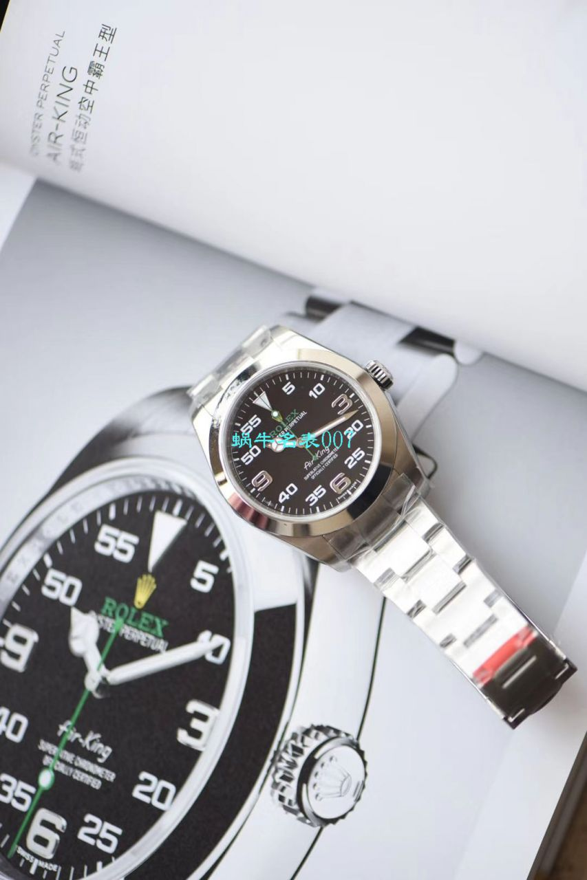 【N厂顶级复刻Air King手表】劳力士空中霸王型系列116900-71200腕表 / R511