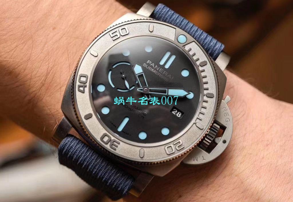 【VS厂新款发售:PAM985-47mm一比一超A高仿手表】沛纳海SUBMERSIBLE 潜行系列PAM00985腕表 / VSPAM985