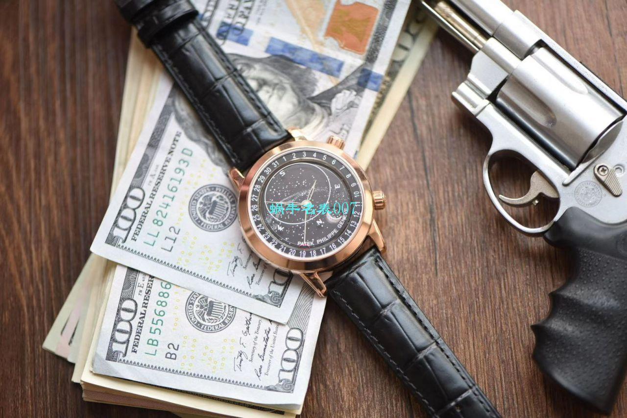 【台湾厂百达翡丽星空多少钱】百达翡丽超级复杂功能计时系列6102R-001腕表 / BD239