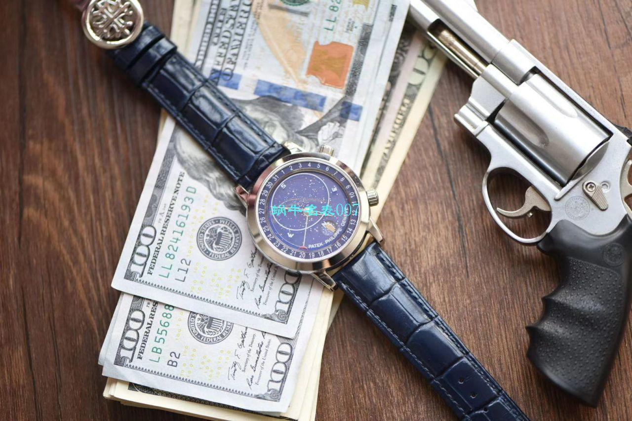 【台湾厂百达翡丽星空复刻多少钱】百达翡丽超级复杂功能计时系列6102P-001 铂金腕表 / BD238