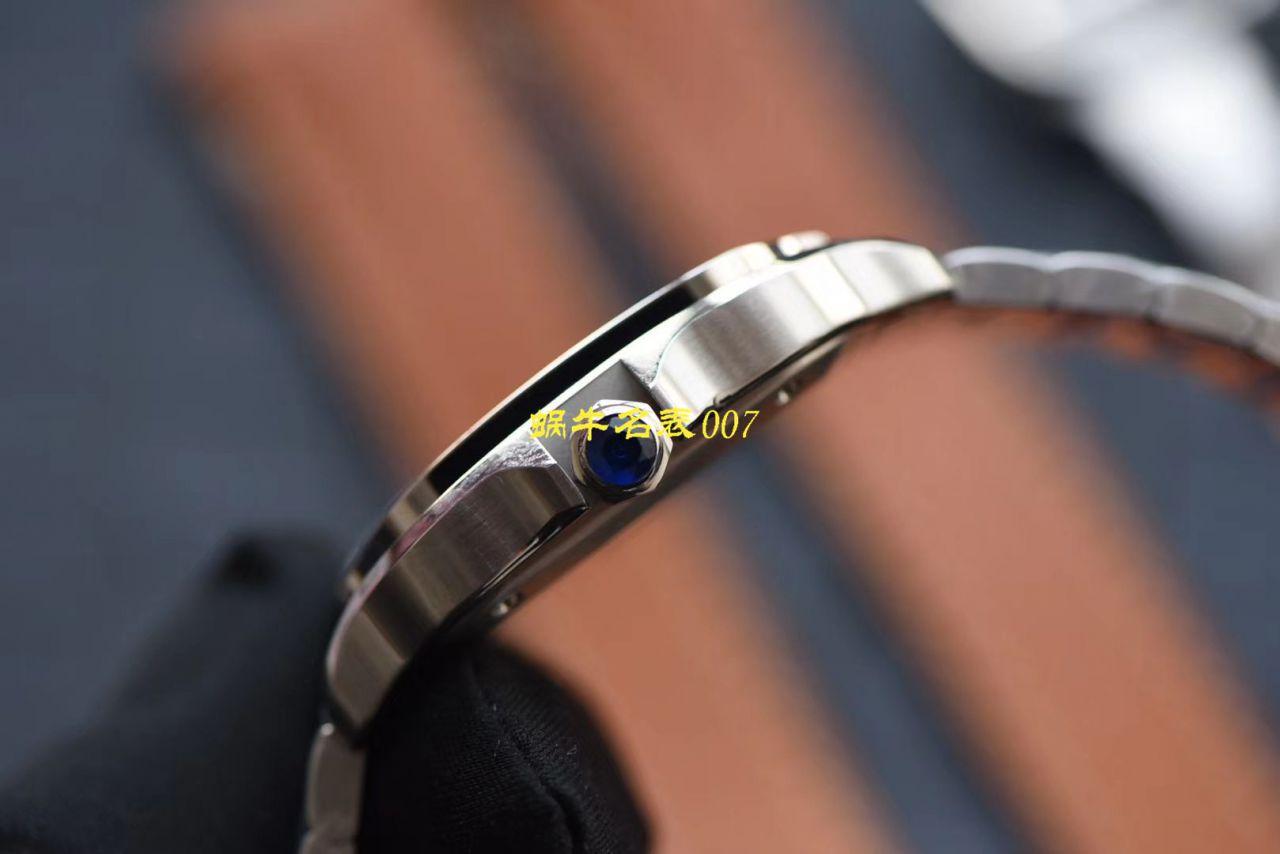 HBBV6新款卡地亚山度士女装表圈镶WJSA0010,WJSA0007中号女表 / K237