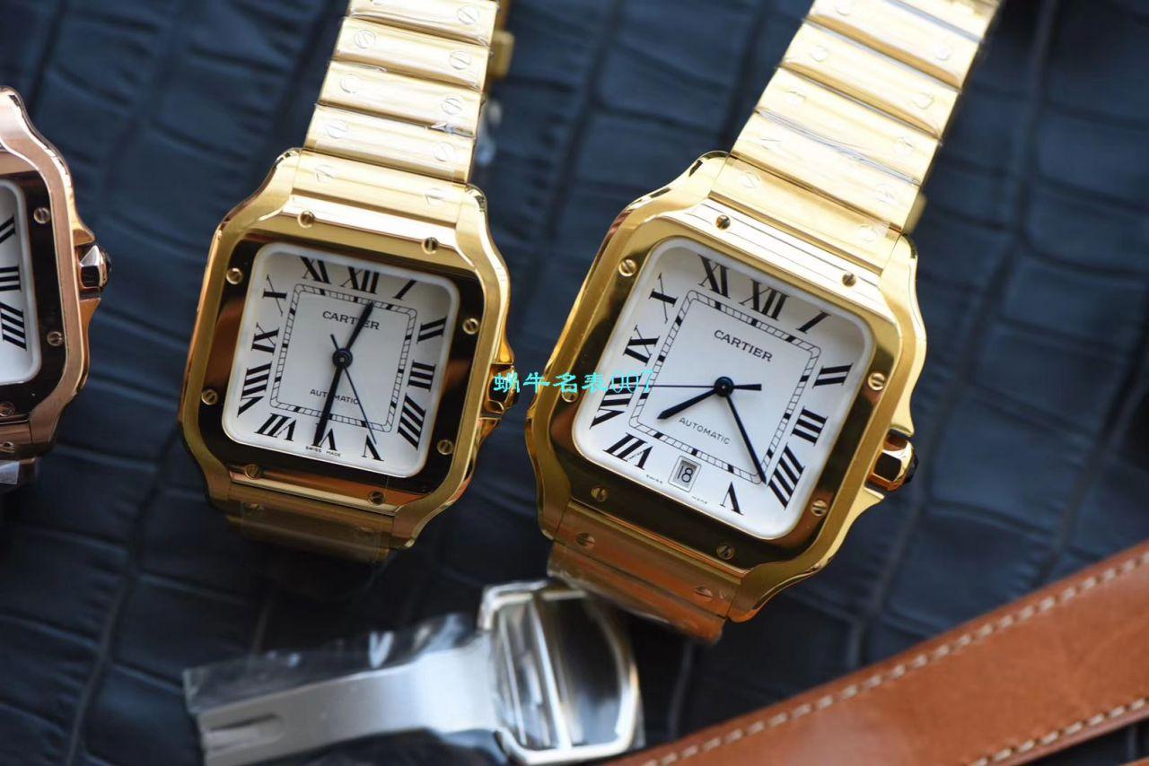 【V6厂CARTIER复刻表女装】卡地亚山度士 SANTOS系列WJSA0007腕表 / K238