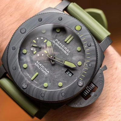 【VS厂新品军绿色英雄情结复刻手表】沛纳海SUBMERSIBLE 潜行系列PAM00961腕表价格报价