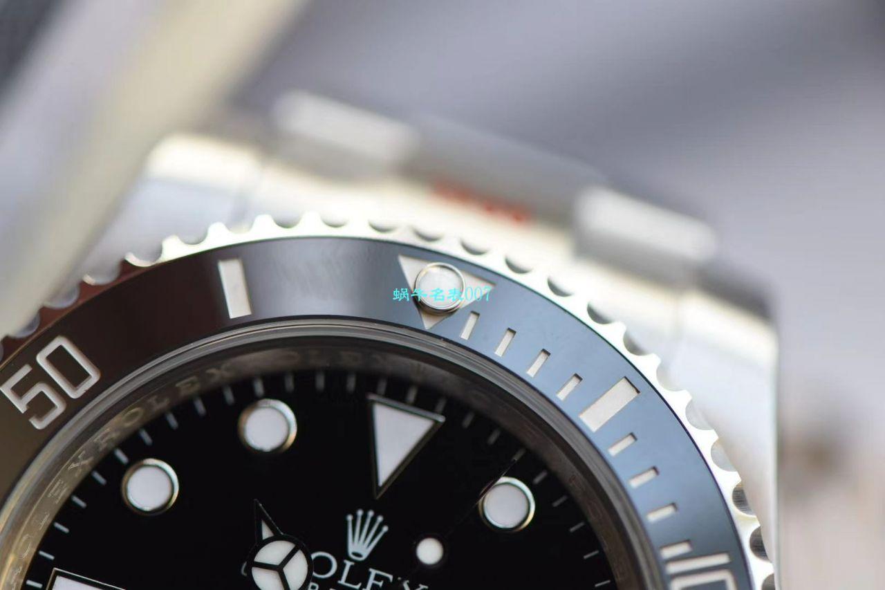 【N厂V10最高版本复刻表无日历黑水鬼】劳力士潜航者型系列114060-97200 黑盘腕表 / R270