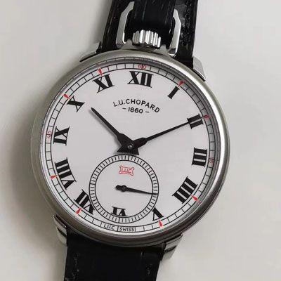 【LUCChopard复刻手表】萧邦L.U.C系列L.U.C THE TRIBUTE系161923-1001腕表与怀表一体腕表