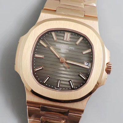 【PPF厂鹦鹉螺复刻最好版本手表V2价格】百达翡丽运动系列5711/1R-001腕表价格报价