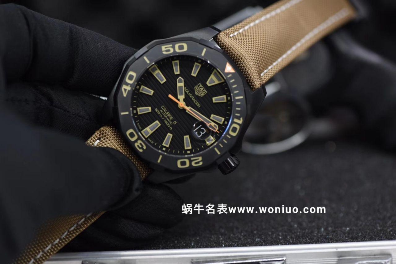 【视频评测HBBv6厂官网复刻表】泰格豪雅竞潜300米WAY208C.FC6383腕表 / TG059AB