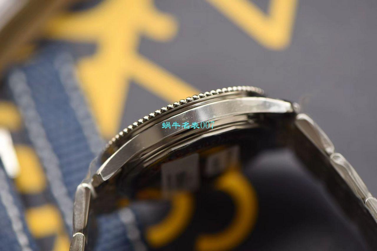 【视频评测KORBreitling超A高仿手表】百年灵38MM航空计时1系列A17325241B1A1腕表 / BL129
