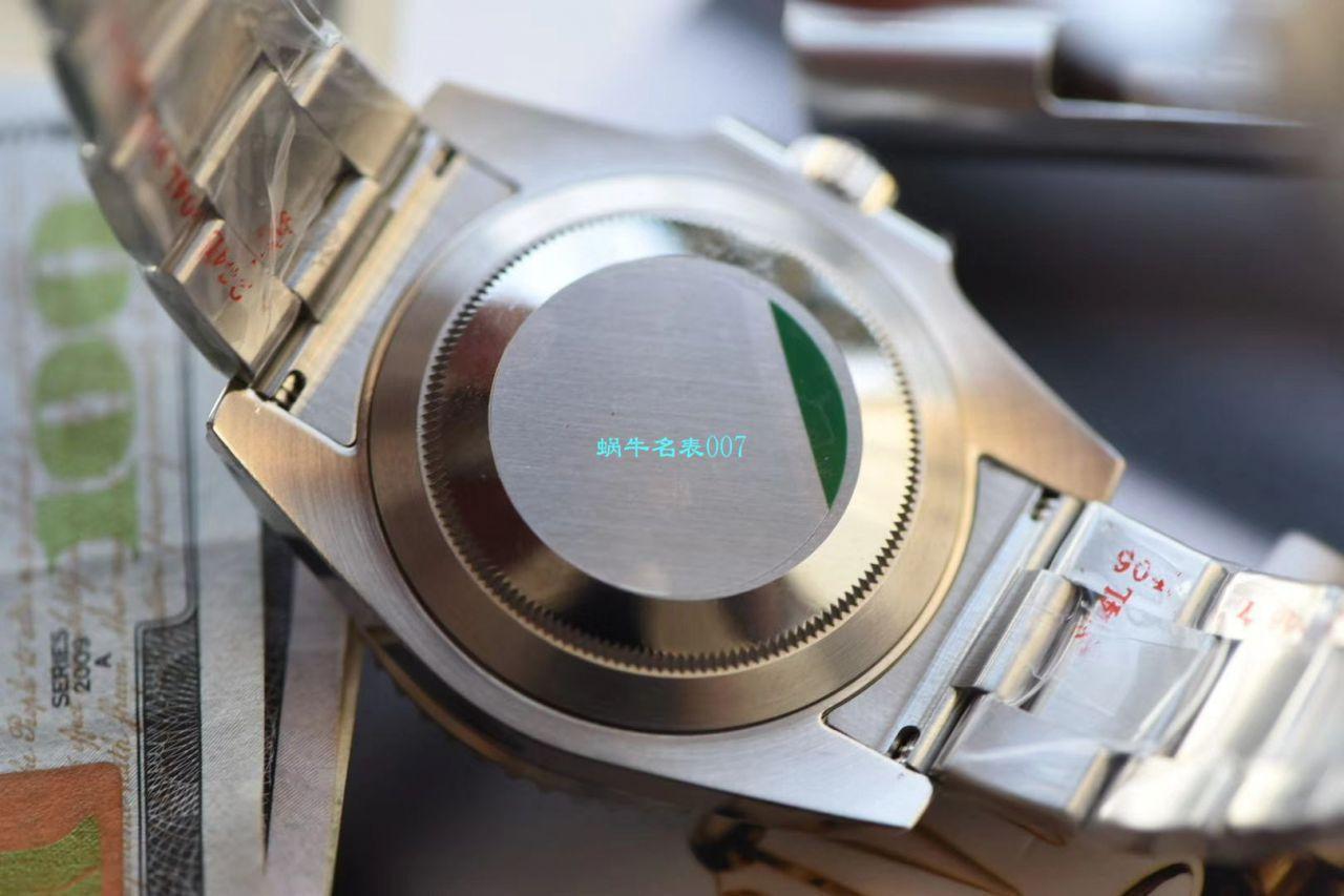 【视频评测N厂V10版本无历黑水鬼价格】劳力士Rolex潜航者型系列114060-97200 腕表 / R276