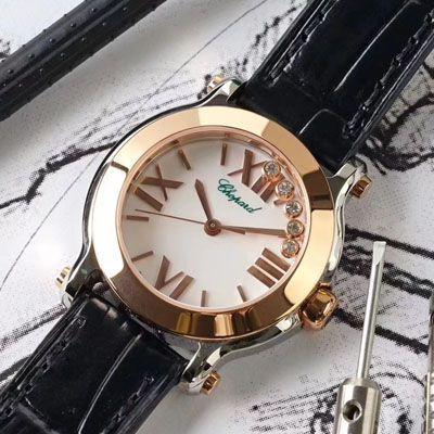 【ZF厂复刻女表】萧邦HAPPY DIAMONDS系列278509-6001,278509-3001腕表