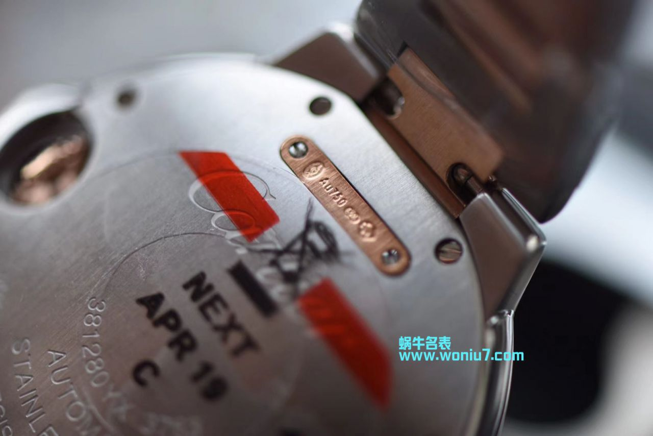 【视频评测HBBv6厂官网超A高仿】卡地亚蓝气球女装33毫米W2BB0023腕表 / K167