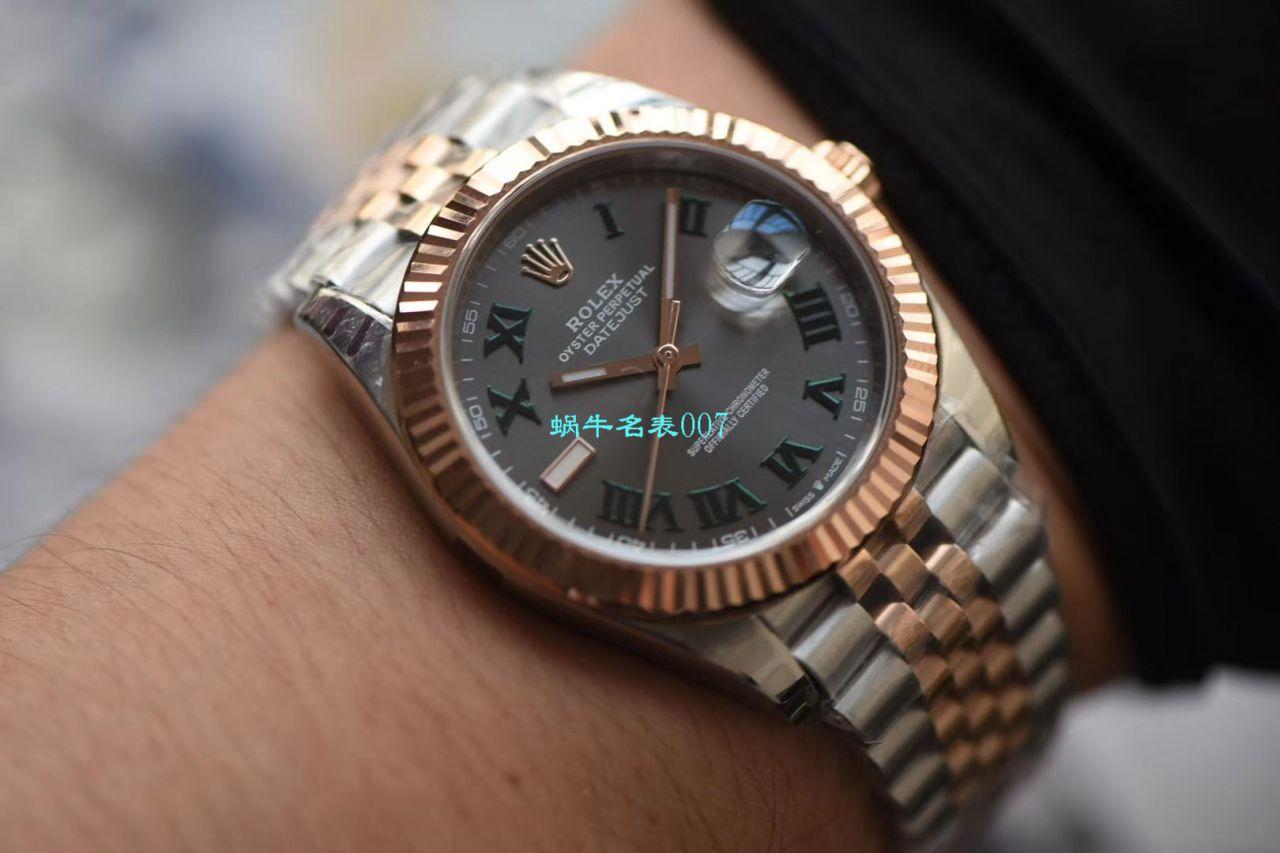 【DJ厂超A高仿手表】劳力士日志型41MM系列m126334-0022腕表 / R523