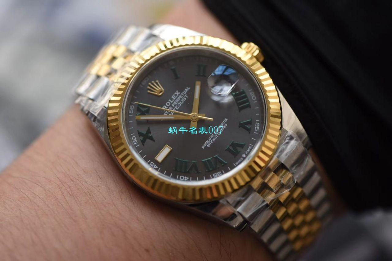 【DJ厂一比一精仿手表】劳力士日志型41MM系列m126333-0020腕表 / R525