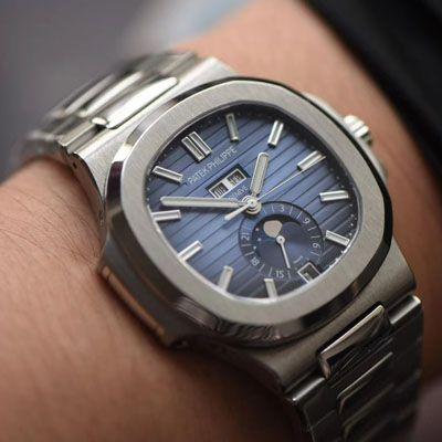 【GR厂官网复刻鹦鹉螺手表】百达翡丽运动优雅系列5726/1A-014腕表价格报价