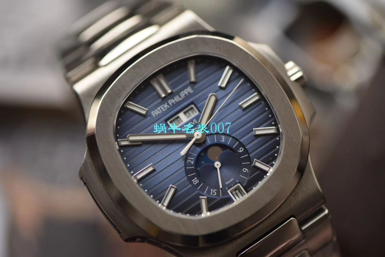 【GR厂顶级精仿手表】百达翡丽运动优雅系列5726/1A-010腕表(鹦鹉螺) / BD260