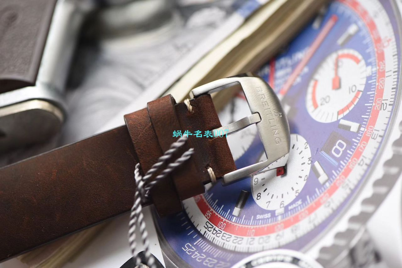 【V9厂超A高仿手表】百年灵航空计时1 B01计时腕表43TWA环球航空特别版AB01219A1G1X1腕表 / BL133