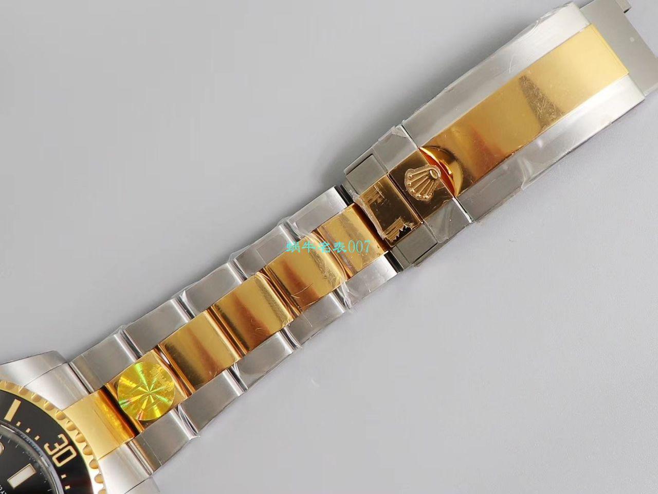 【D1最强包金王单黄复刻表】劳力士海使型系列m126603-0001腕表 / R527