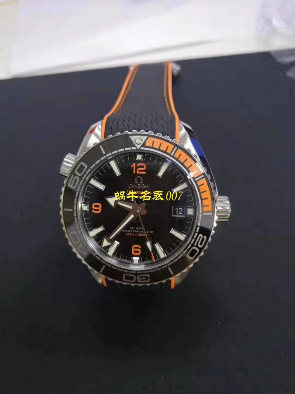 【视频评测VS厂OMEGA海洋宇宙600四分之一橙】欧米茄海洋宇宙600米215.30.44.21.01.002腕表 / M631