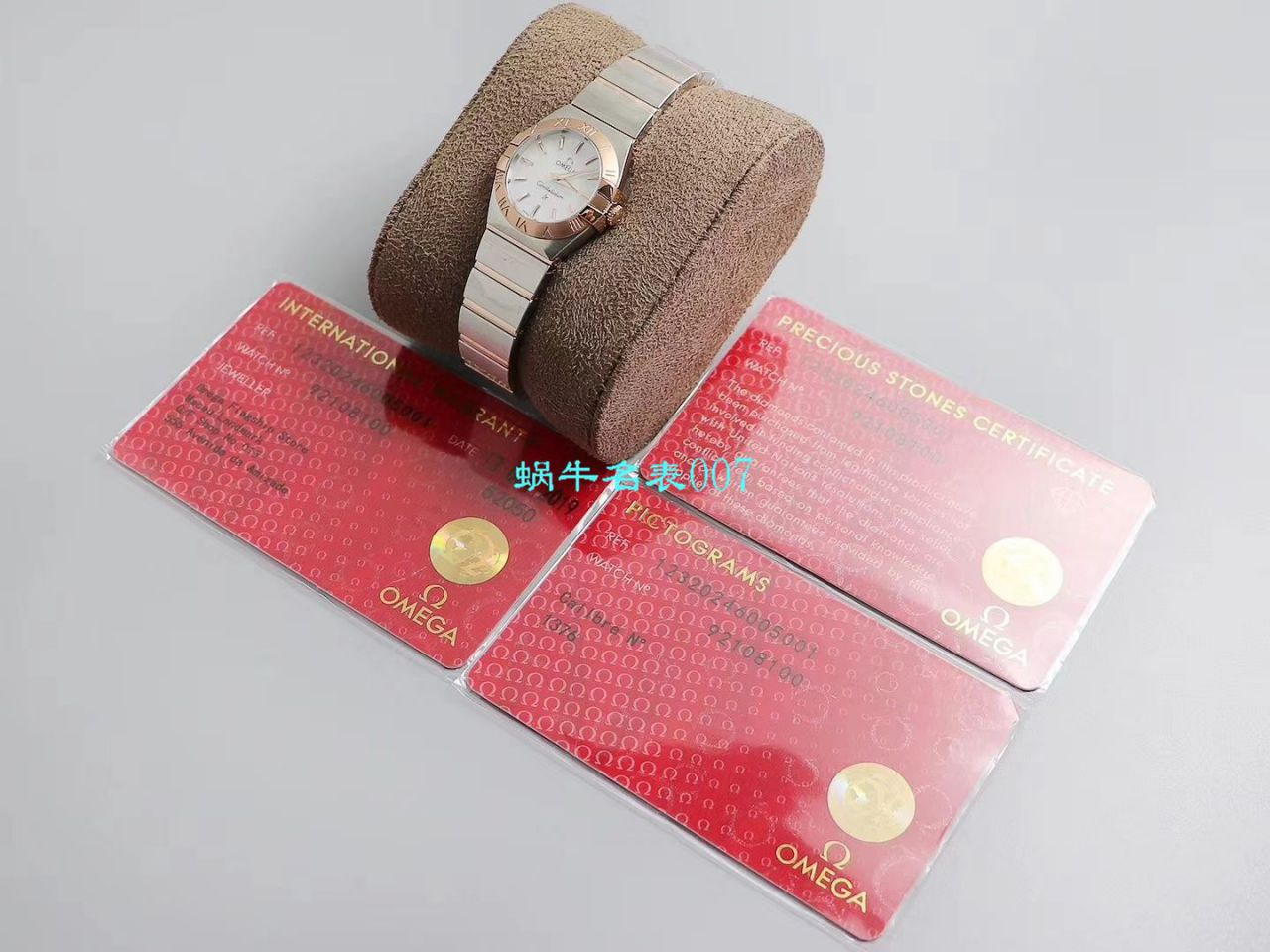 【8848厂官网复刻表】欧米茄女装星座小号24/27mm 超级版本2粒南非真钻镶嵌字面 / M661