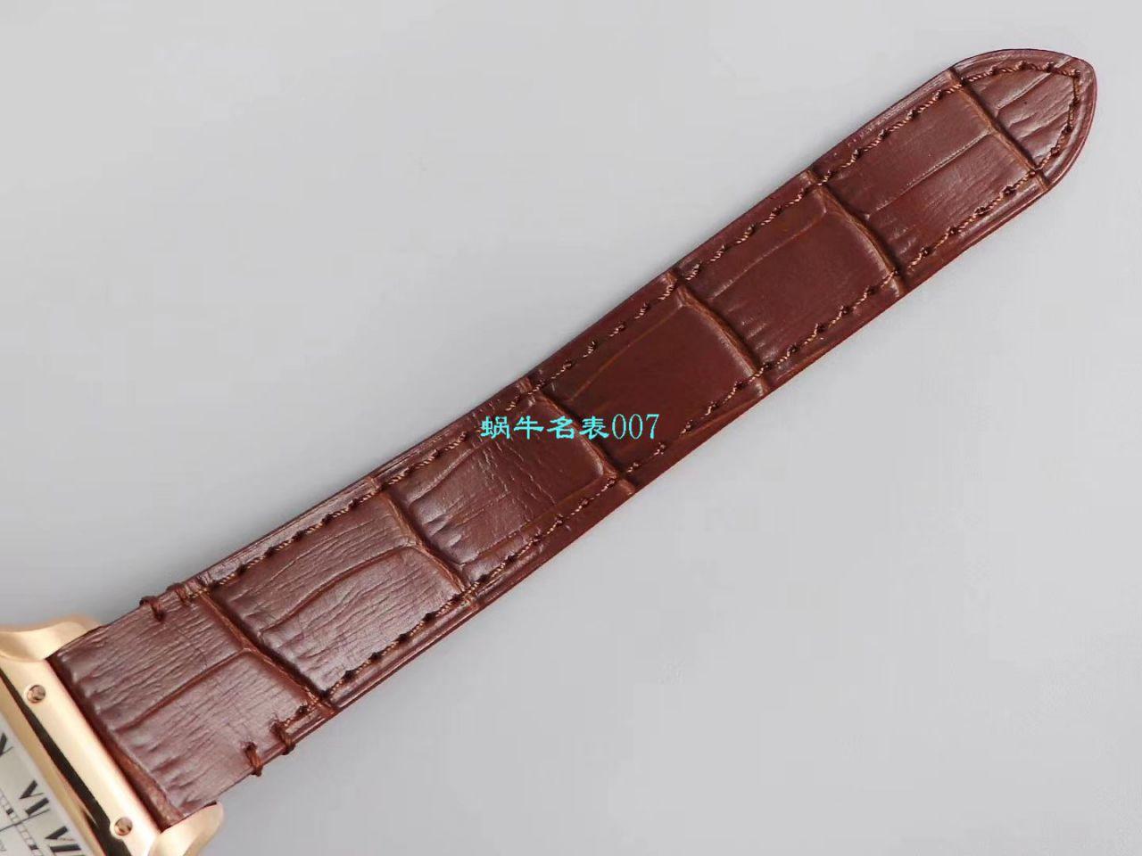 【V6厂超A高仿手表】卡地亚山度士系列WGSA0012(中号)腕表 / K261