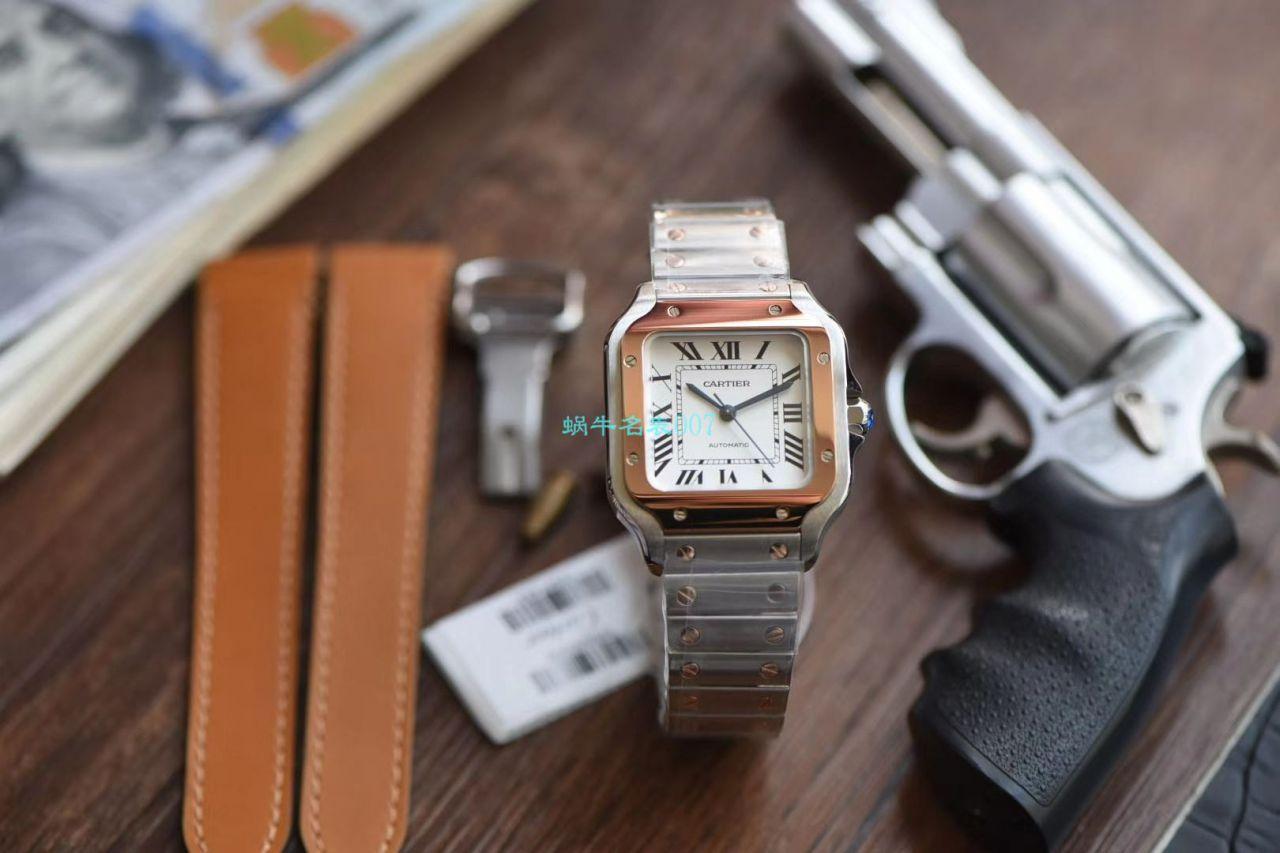 【V6厂官网超A高仿手表】卡地亚山度士系列W2SA0007(中号)腕表 / K239