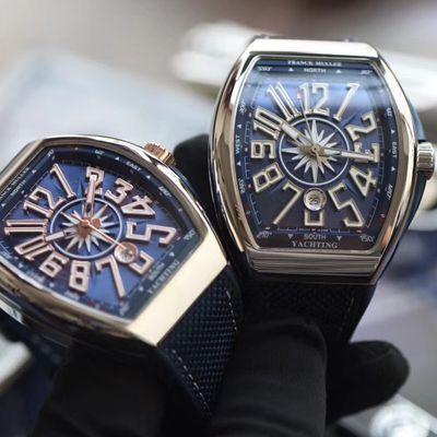 【ABS厂法穆兰超A复刻手表】法兰克穆勒YACHTING系列V45 SC DT YACHTING OG腕表价格报价