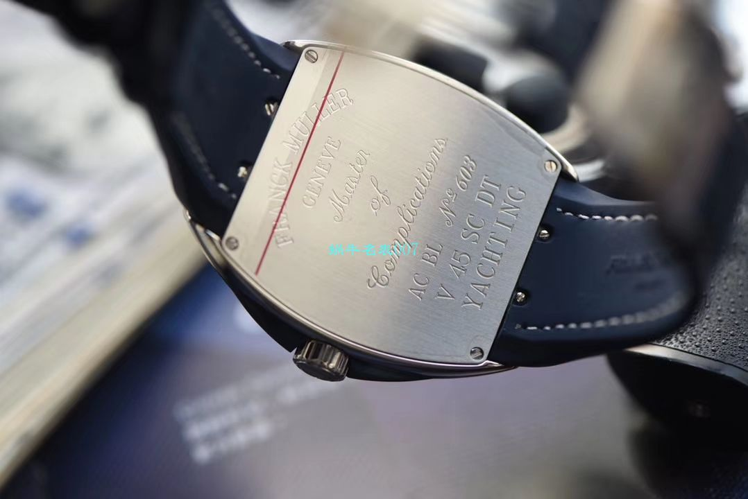 【ABS法穆兰超A复刻手表】法兰克穆勒YACHTING系列V45 SC DT YACHTING OG腕表 / FL067