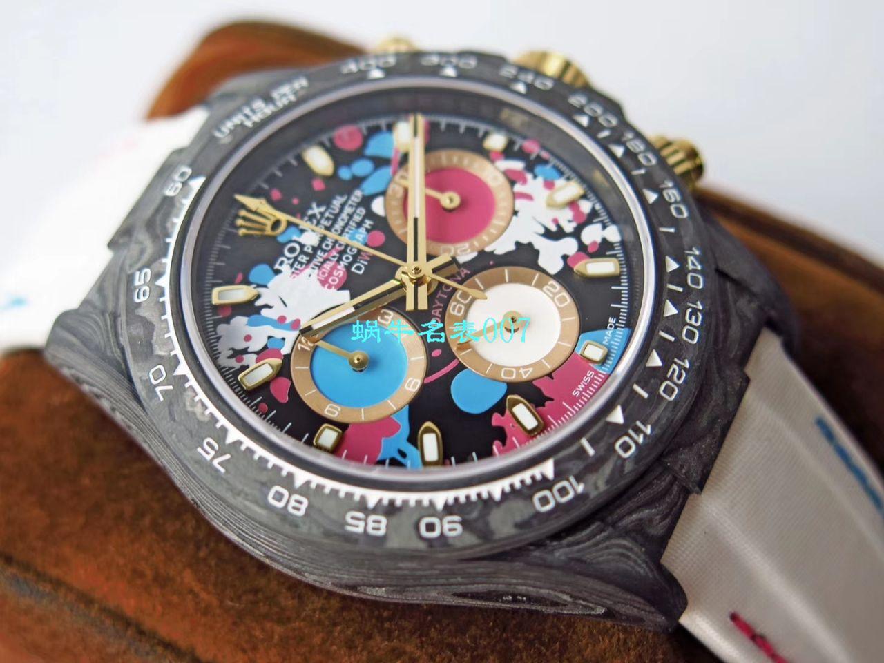 【TW厂劳力士复刻手表】劳力士ROLEX宇宙计时迪通拿系列之全碳纤维海外定制版 / R367