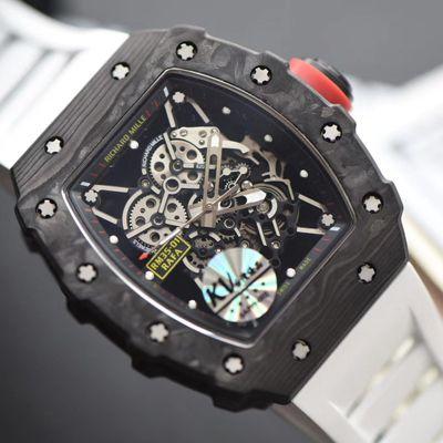 KV厂最强进口原纹碳纤维V3升级版RICHARD MILLE里查德米尔男士系列RM 35-01腕表价格报价