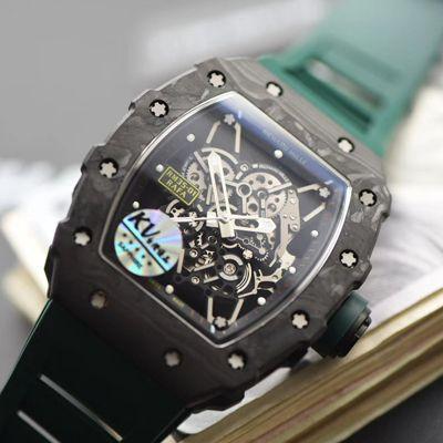 KV厂V3升级版本超A高仿RICHARD MILLE理查德米勒RM 35-01男士手表价格报价