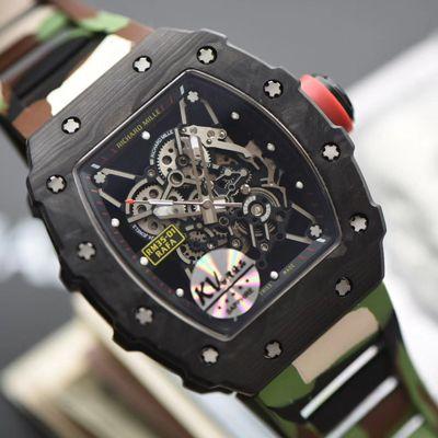 视频评测KV厂V3升级版一比一精仿理查德米勒RM 35-01腕表价格报价