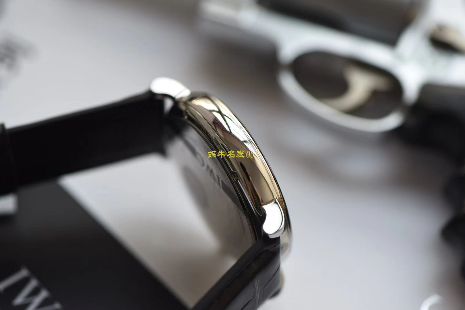 V7超A高仿IWC万国柏涛菲诺IW356523腕表专柜最新款波涛菲诺蓝面金针 / WG512