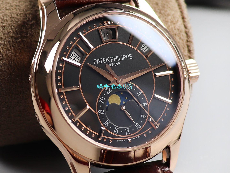 GR顶级复刻表百达翡丽复杂功能时计系列5205R-001腕表 / BD270