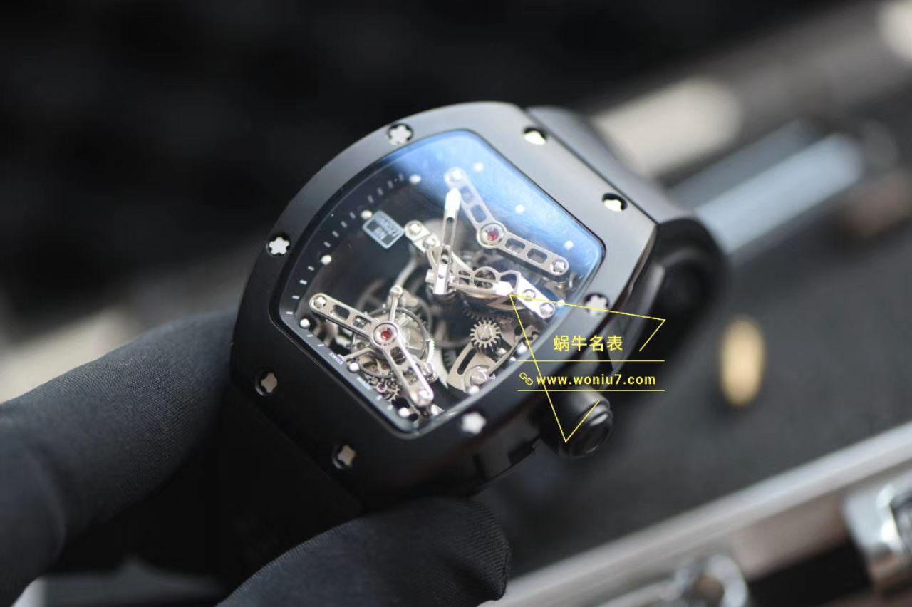 视频分析EUR陀飞轮RICHARD MILLE理查德米勒RM 027 TOURBILLON RAFAEL NADAL腕表 / RM027EUR02