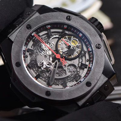 视频讲解V6厂复刻宇舶法拉利Hublot Big Bang Ferrari Ceramic F11系列401.CX.0123.VR腕表