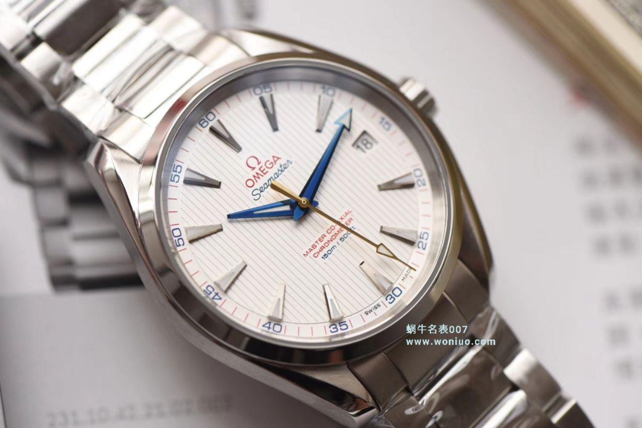 视频评测VS厂欧米茄海马150米231.10.42.21.02.002腕表(金针队长) / M329VS