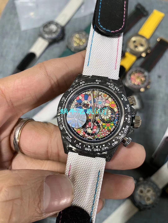 WWF厂超A复刻最新升级版Rolex劳力士碳纤维迪通拿Diw团队改造版 / R533
