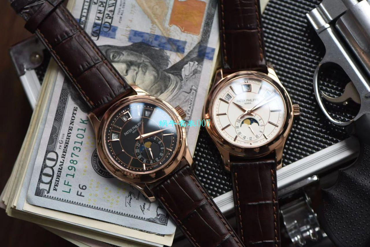 视频评测GR厂百达翡丽复刻手表西装暴徒月相5205R-001,5205R-010,5205G-010,5205G-013,5205G-001腕表 / BD281