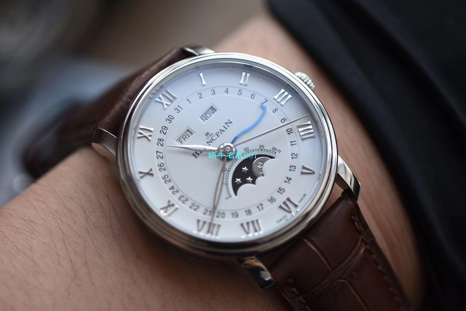 视频评测宝珀经典系列6654-1127-55B腕表OM一比一精仿手表【OM 宝铂6654最强V2升级版】 / BP022MM
