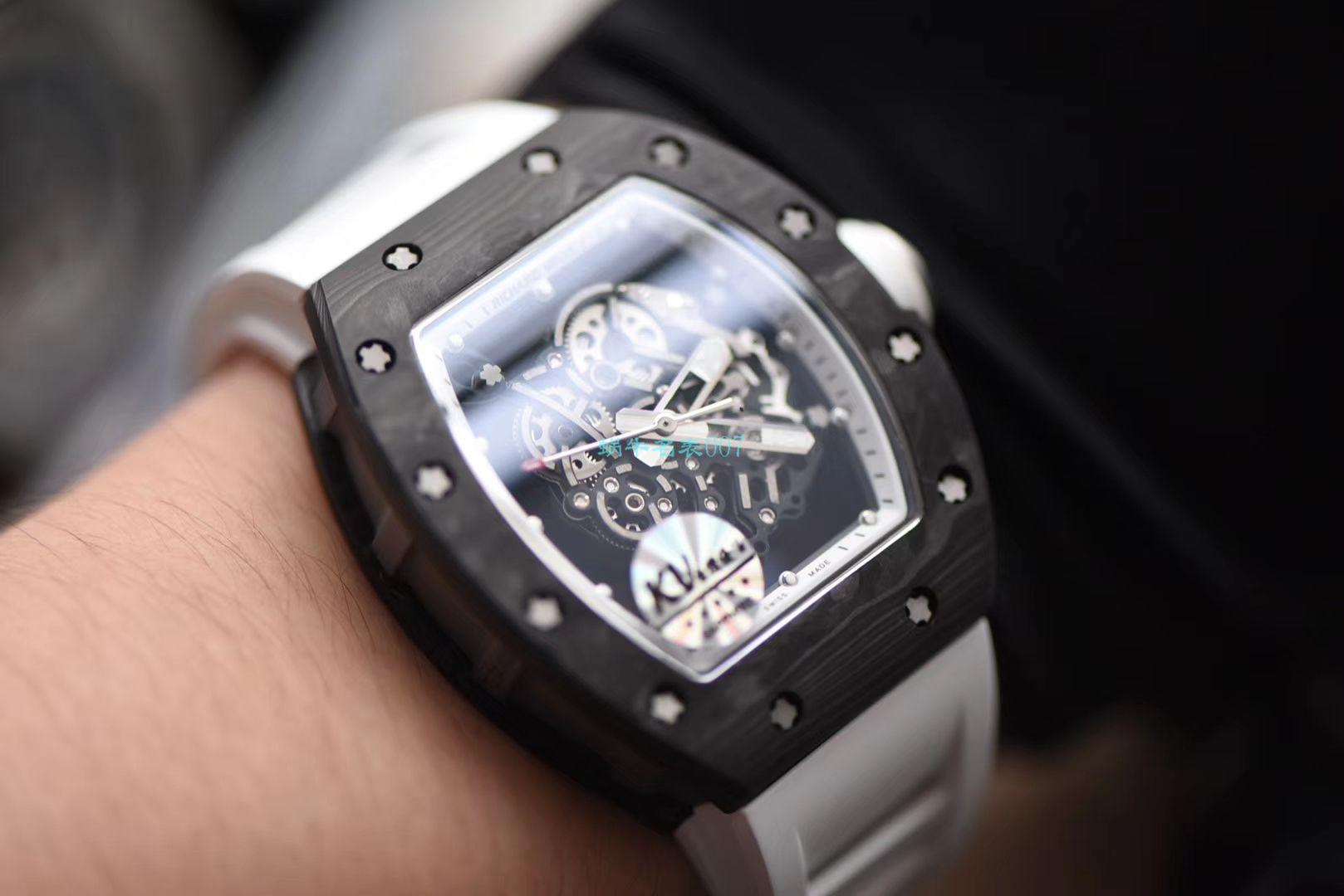 KV厂顶级复刻RICHARD MILLE理查德米勒RM 055腕表 / KVRM0551