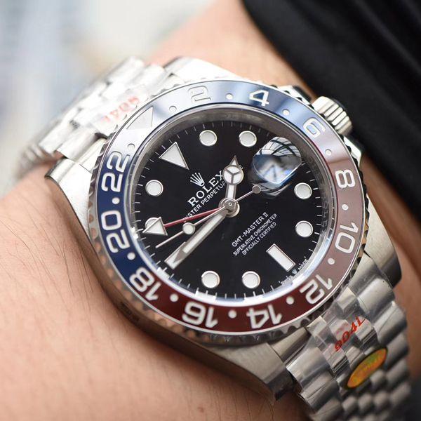 视频评测N厂官网超级可乐圈劳力士格林尼治型II126710BLRO-0001腕表