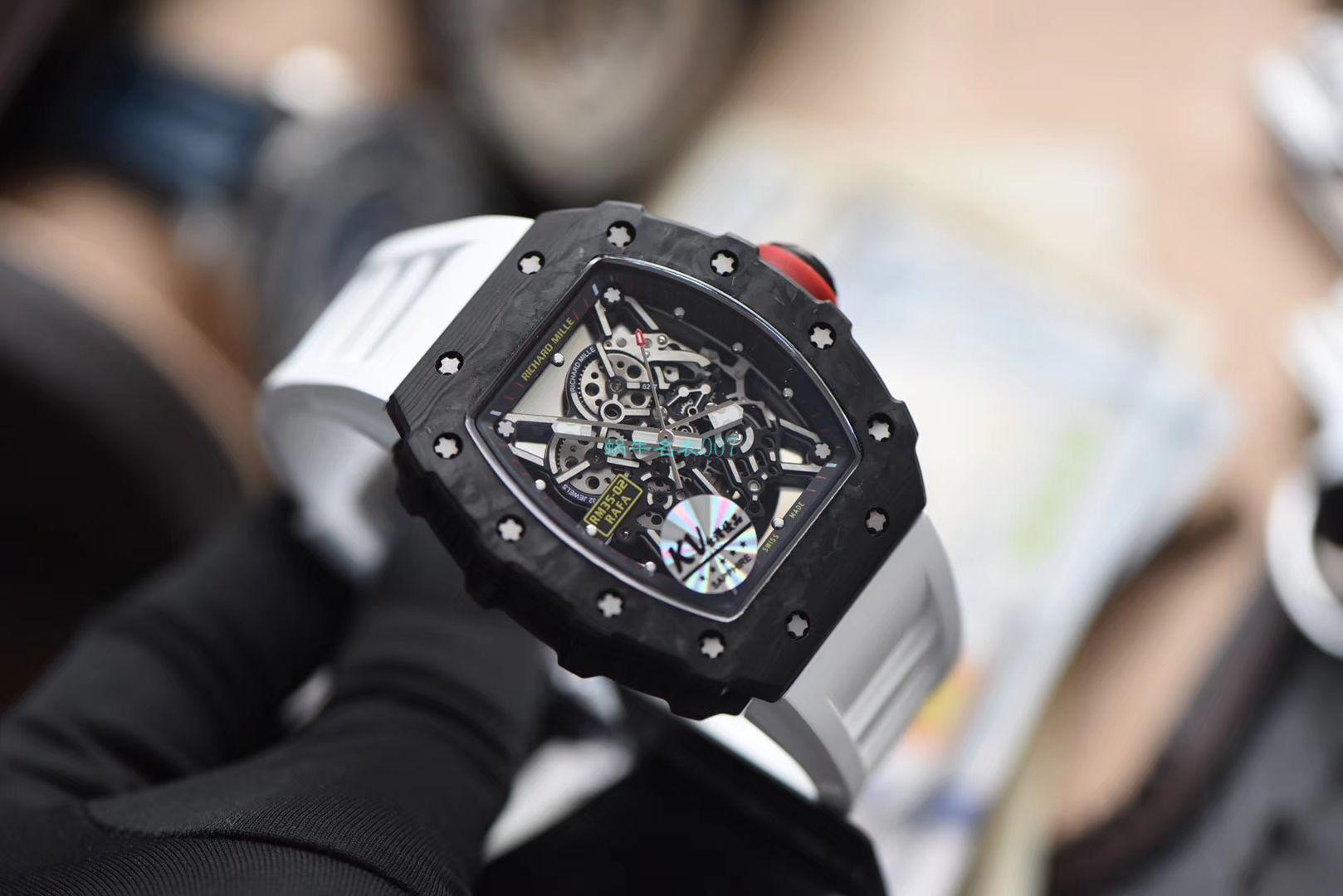 【视频评测】KV厂官网V3最高版本顶级复刻RICHARD MILLE理查德米勒RM 035-02镂空腕表 / KVRM352V3E